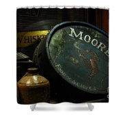 Moore's Tavern After Closing Shower Curtain by Mary Machare