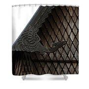 Moorhead Stave Church 12 Shower Curtain