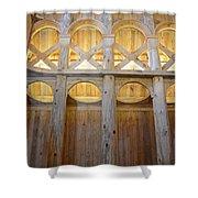 Moorhead Stave Church 14 Shower Curtain