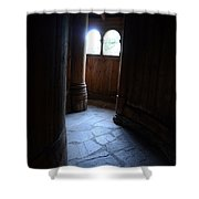 Moorhead Stave Church 23 Shower Curtain
