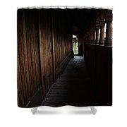 Moorhead Stave Church 24 Shower Curtain