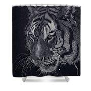 Moquito El Tigre Shower Curtain