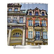More Posnan Shops - Poland Shower Curtain