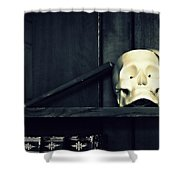 More Than Books Shower Curtain