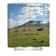 Moreno Valley Morning Shower Curtain