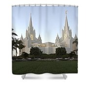 Mormon Cathederal San Diego Shower Curtain