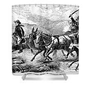 Mormon Family, 1874 Shower Curtain