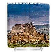Mormon Row Barn 2 Shower Curtain