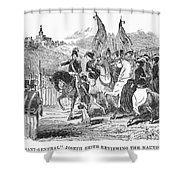Mormons At Nauvoo, 1840s Shower Curtain