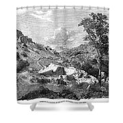 Mormons Emigrating, 1857 Shower Curtain