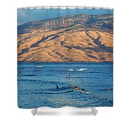 Morning At Cove Park Shower Curtain