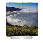 Morning At Klamath River Overlook Shower Curtain
