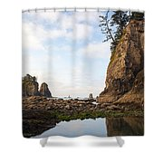 Morning Columns Shower Curtain