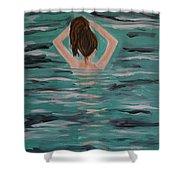 Morning Dip Shower Curtain