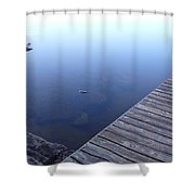Morning Dock Shower Curtain