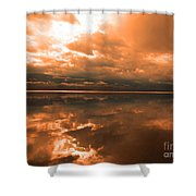 Morning Expressions Shower Curtain