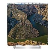 Morning In Bighorn Canyon Shower Curtain