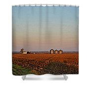 Morning In The Heartland Watercolor Photoart I Shower Curtain