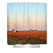 Morning In The Heartland Watercolor Photoart II Shower Curtain