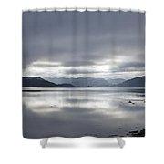 Morning Light On The Loch Shower Curtain