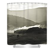 Morning Mist Crested Butte Colorado Shower Curtain