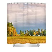 Morning On The Dufort Shower Curtain