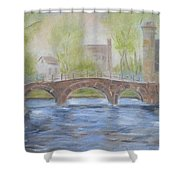 Morning On The Meuse Shower Curtain