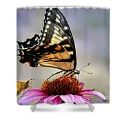 Morning Snack Shower Curtain