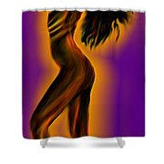 Morning- Stretch Shower Curtain