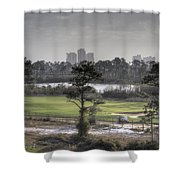 Morning Tee Shower Curtain