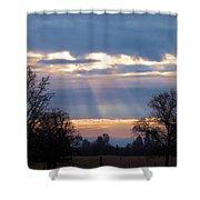 Mornings Heavenly Light Shower Curtain