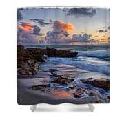 Mornings Reflections Shower Curtain