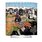 Moroccan Market Photo 01 Shower Curtain