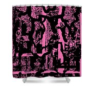 Morph Eruption 2 Shower Curtain