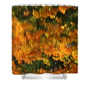 Morphing Colors Shower Curtain