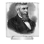 Morrison R. Waite (1816-1888) Shower Curtain
