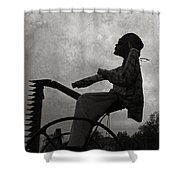 Mortality Road Shower Curtain