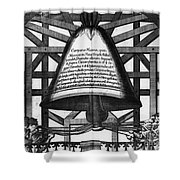 Moscow: Bell Tower, 1698 Shower Curtain