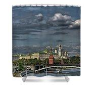 Moscow Kremlin Shower Curtain