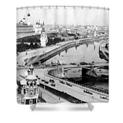 Moscow Russia - C 1902 Shower Curtain