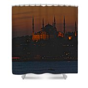 Mosque At Dusk Shower Curtain