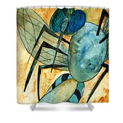 Mosquito Deity  Shower Curtain