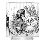 Mother And Child, 1873 Shower Curtain