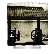 Mother And Child - Special Moment Shower Curtain