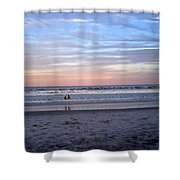 Mother And Daughter Beach Time Shower Curtain