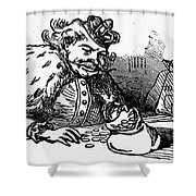 Mother Goose: King Shower Curtain by Granger