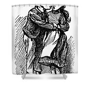 Mother Goose: Kiss Shower Curtain