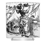 Mother Goose: Maid Shower Curtain