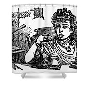 Mother Goose: Queen Shower Curtain by Granger