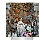 Mother Mary 2 Shower Curtain